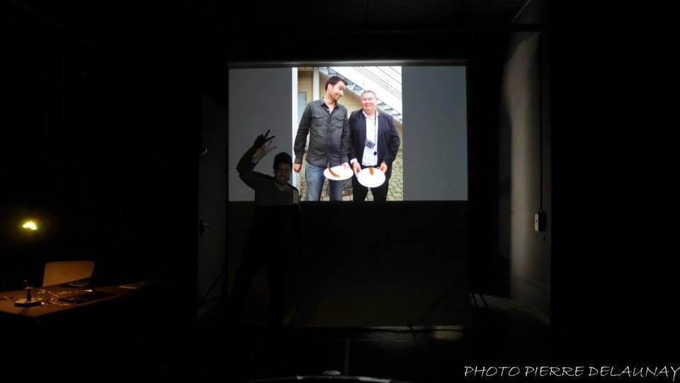 Foto de Pierre Delaunay sobre la Fotografía de Toni Balanzà utilizada por André Boto en su conferencia FEP en Copenhague - Dinamarca