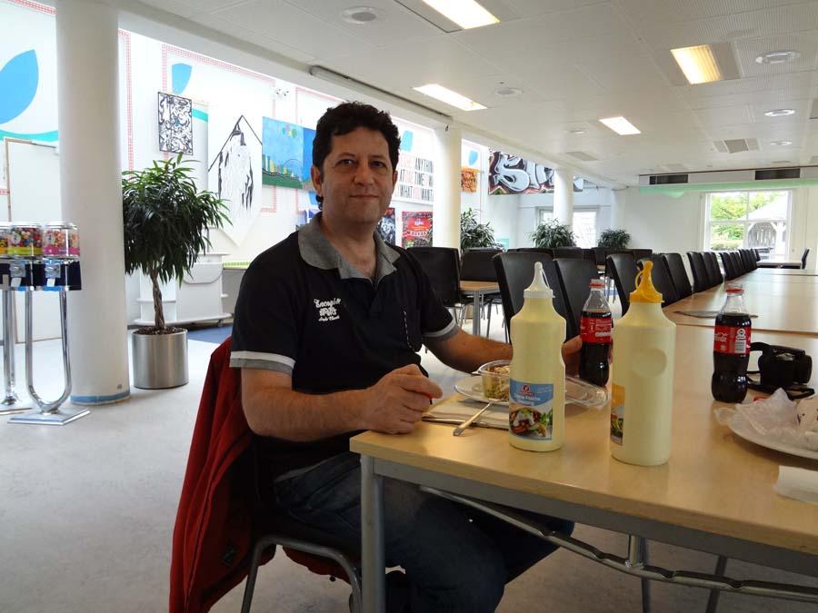 Cafetería de la Escuela de formación profesional KTS en Copenhague - Dinamarca