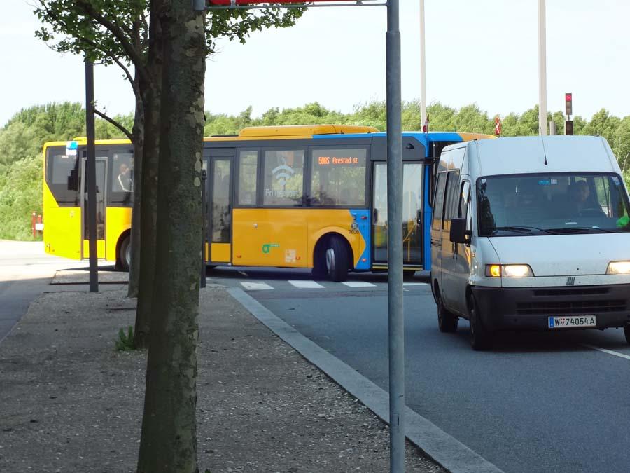 Autobus de Copenhague con wifi