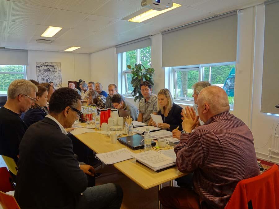Reunión de la junta directiva de la FEP en Copenhague - Dinamarca