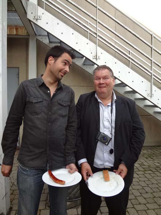 André Boto y Pierre Delaunay en Copenhague - Dinamarca foto de Toni Balanzà