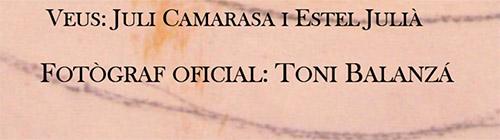 Toni Balanzà- fotógrafo oficial en el cartel de La imatge traduïda de Estel Julià sobre pinturas de Enric Alfons con fotografías de Toni Balanzà, en la sala Aifos del campus de Sant Vicent del Raspeig de la Universitat d'Alacant