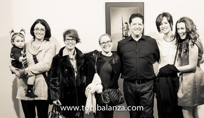 foto de grupo de mujeres cancer de mama y fotógrafo toni balanza