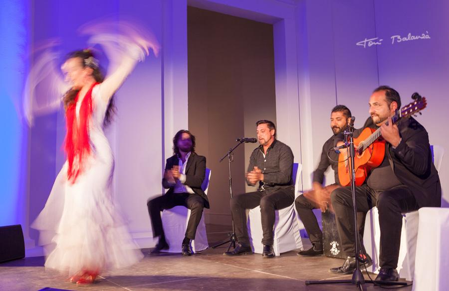 ebmt16 Valencia - Spain bailando flamenco