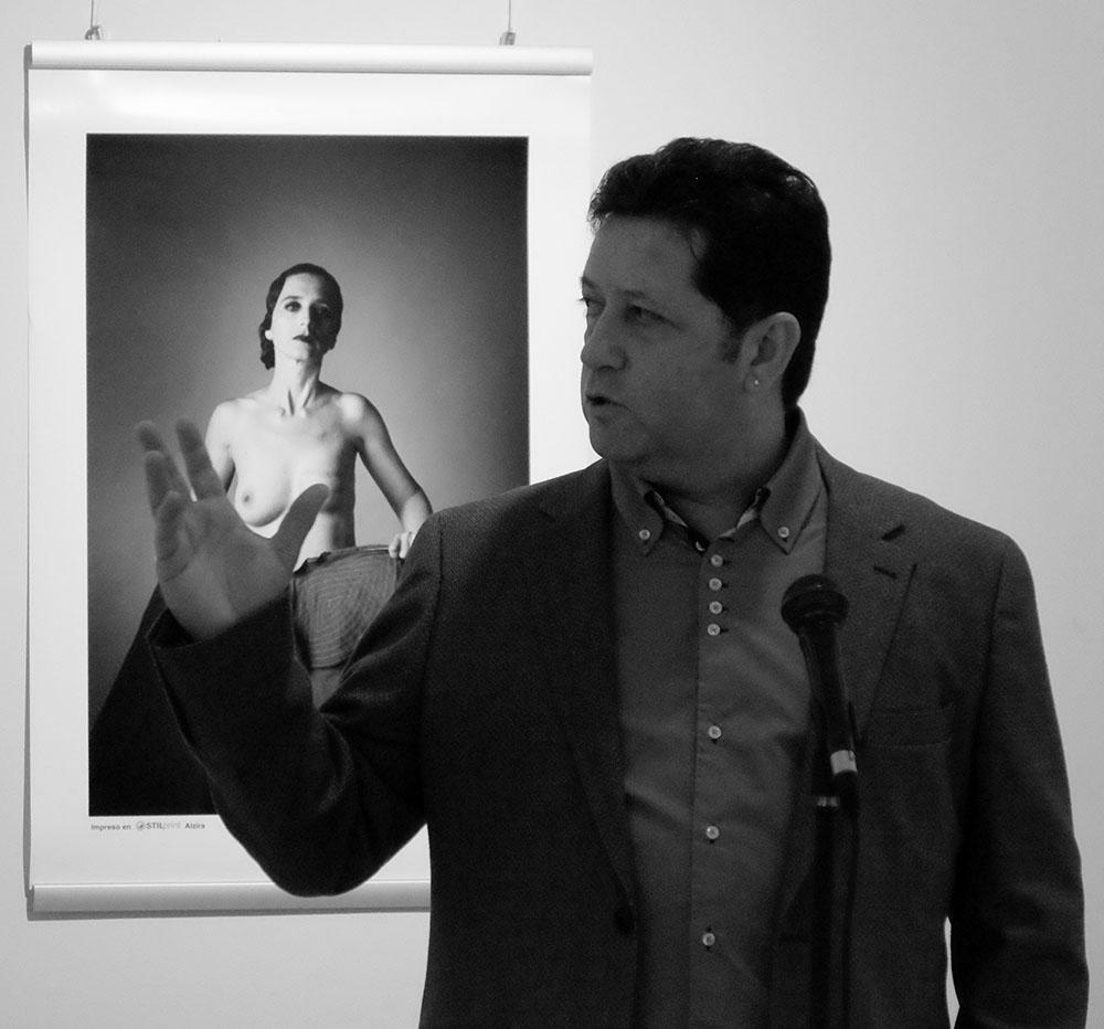 Toni Balanzá fotógrafo del cáncer de mama