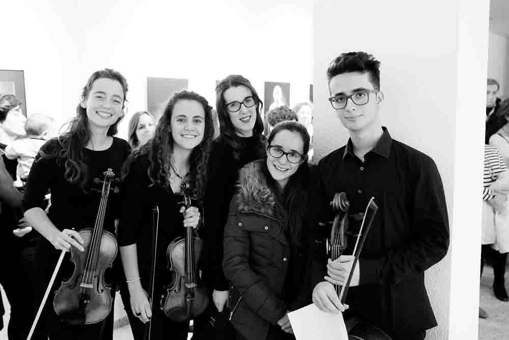 Sonrisas en el Trío de cuerda de la Orquesta SIOAM de Benimàmet