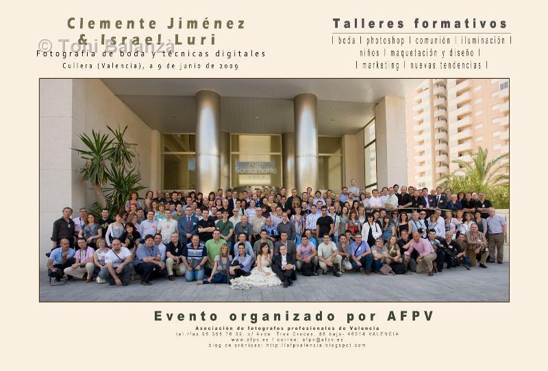 Taller de Clemente Jiménez en Cullera con AFPV