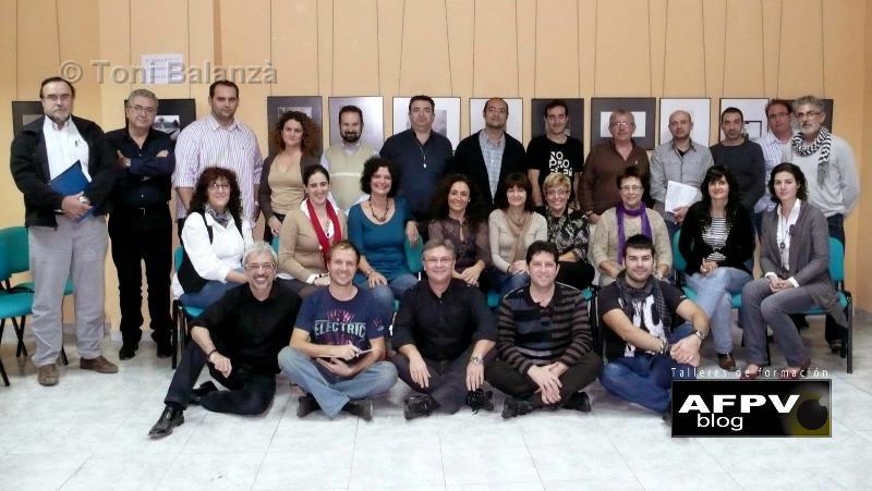 Curso de Photoshop con Pedro Belizon en la sede de AFPV