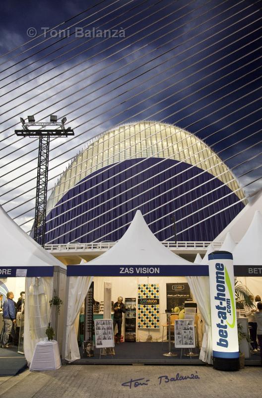 El Ágora y Zas Visión en el OPEN 500 de Valencia