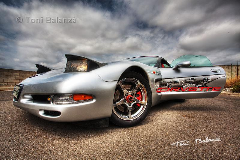 Corvette en HDRI Color