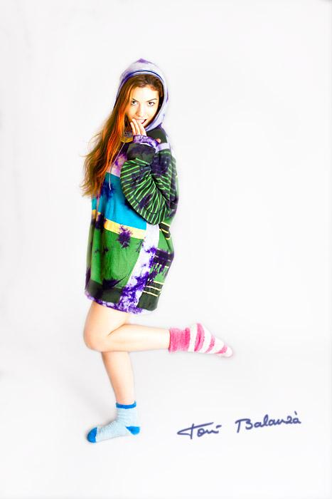 Yuna 0407 con ropa de Desigual