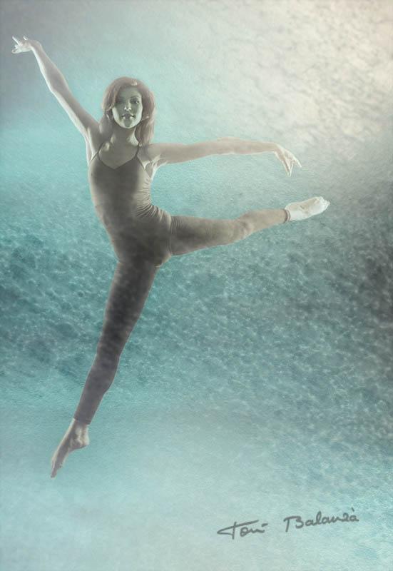 La bailarina Marina Benmahammed