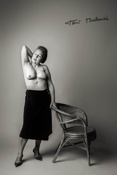 María Luisa mujer mastectomizada por el cáncer de mama