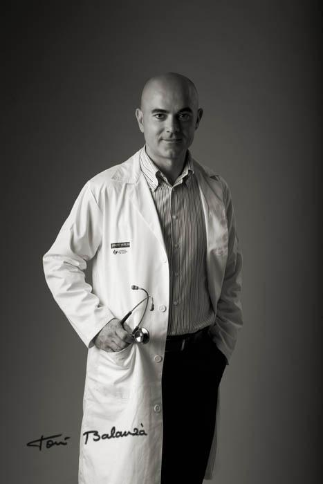 Dr D Óscar Juan oncólogo del Hospilal La Fe de Valencia