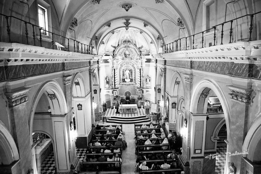 Plano general de la Iglesia