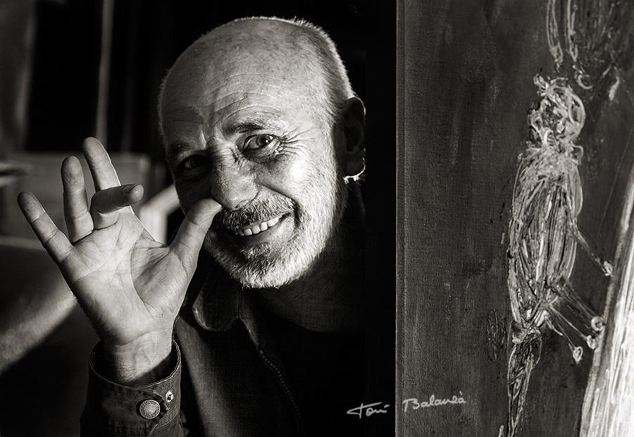 Enric Alfons pintor valenciano por Toni Balanzà