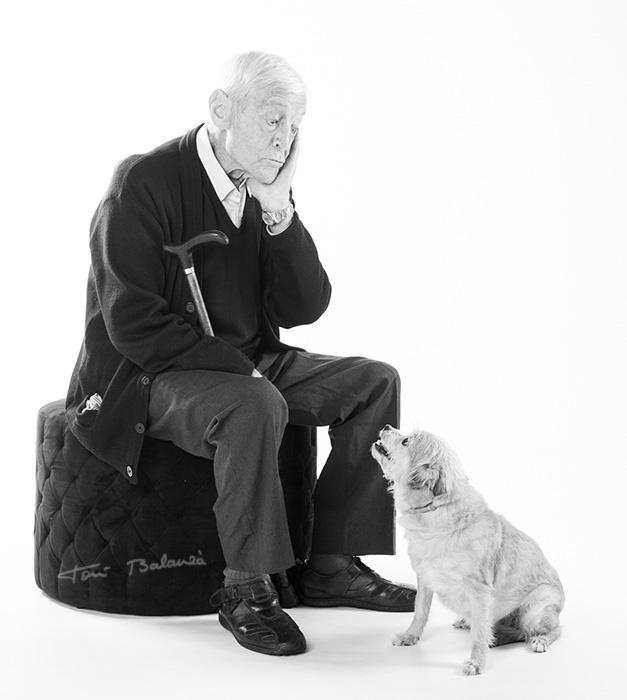 Fotografía de mascotas en estudio fotográfico