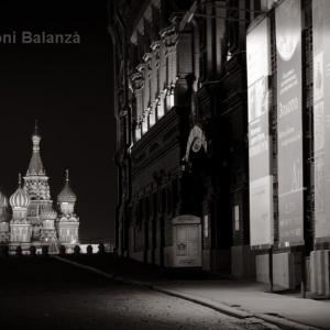 San Basilio desde la Plaza Roja - Fue complicado tomar esta imagen.