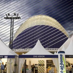 El Ágora y Zas Visión en el OPEN 500 de Valencia -