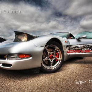 Corvette en HDRI Color -