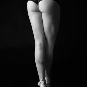 Piernas de bailarina -
